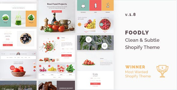 Shopify Foodly Template