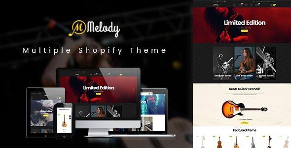 Shopify AP Melody Theme