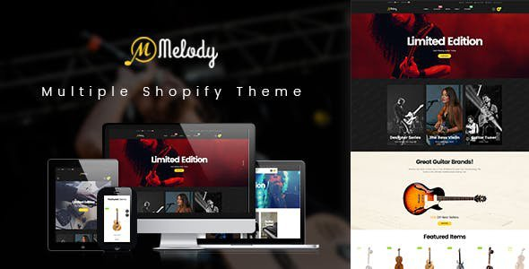 Shopify AP Melody Theme