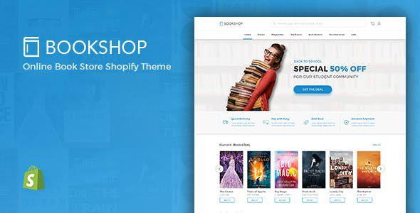 Shopify Bookshop Theme
