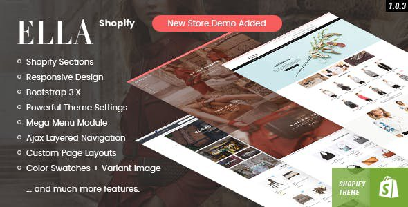 Shopify Ella Theme