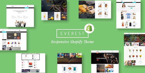 Shopify Everest Template