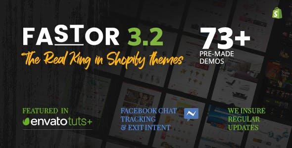 Shopify Fastor Theme