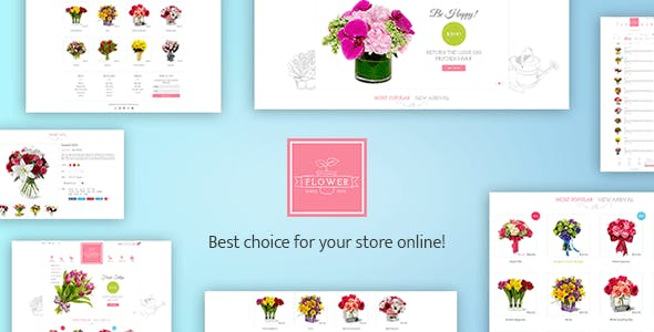 Shopify Flowerify Template