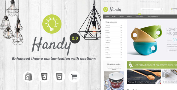 Shopify Handy Theme