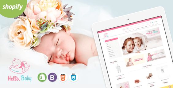 Shopify Hello Baby Template
