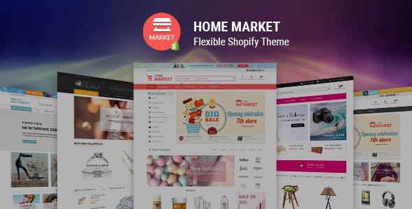 Shopify Home Market Theme