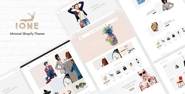 Shopify ione theme