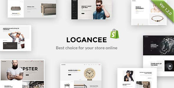 Shopify Logancee Template