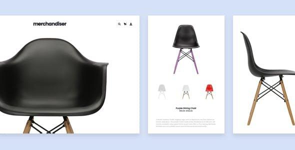 Shopify merchandiser theme