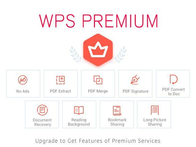 Upgrade WPS OFFICE
