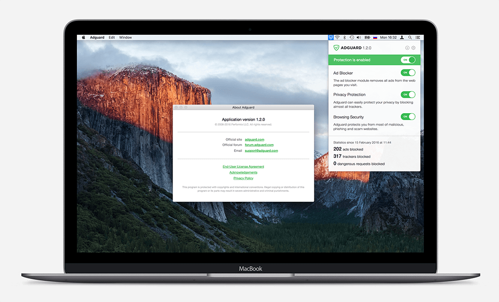 Adguard for Mac OS and Window