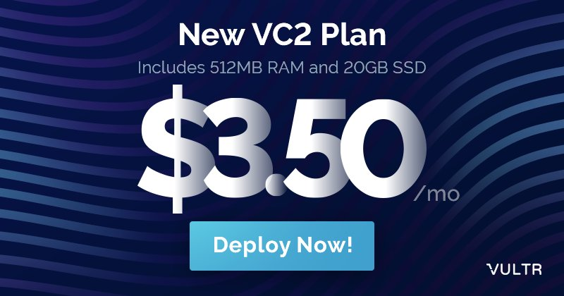 Vultr VPS hosting plans and pricing credits,  coupon